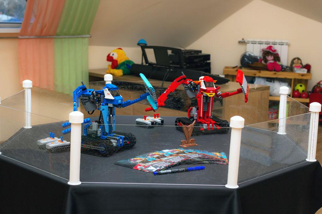Роботы готовы к битве